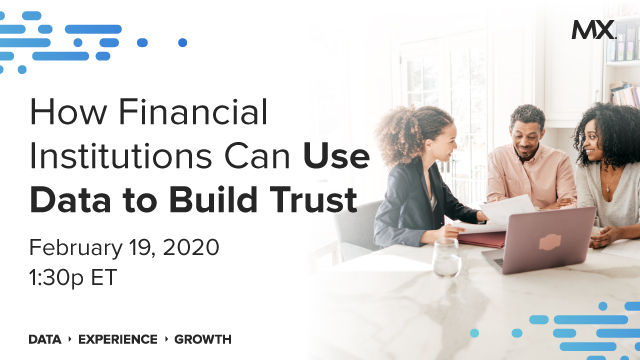 How Financial Institutions Can Use Data to Build Trust